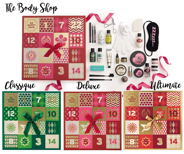 Calendrier de l'Avent Beauté - The Body Shop