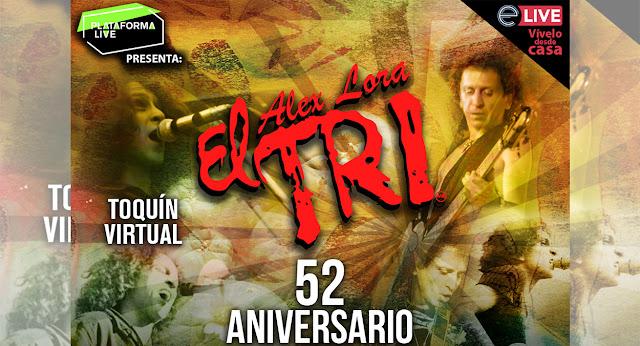 La banda rocanrolera 'El Tri' llegará a tus pantallas a través de Eticket Live