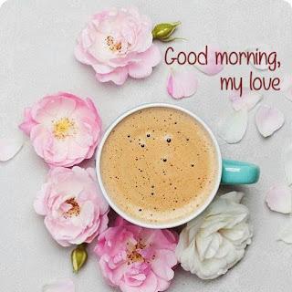 photo Romantique Messages bonjour et souhaite  de bon matin avec images