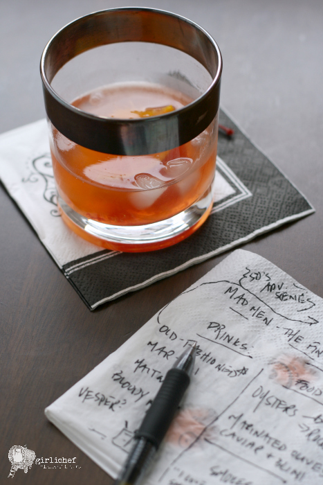 Don Draper's Old Fashioned #PartyLikeaMadMan