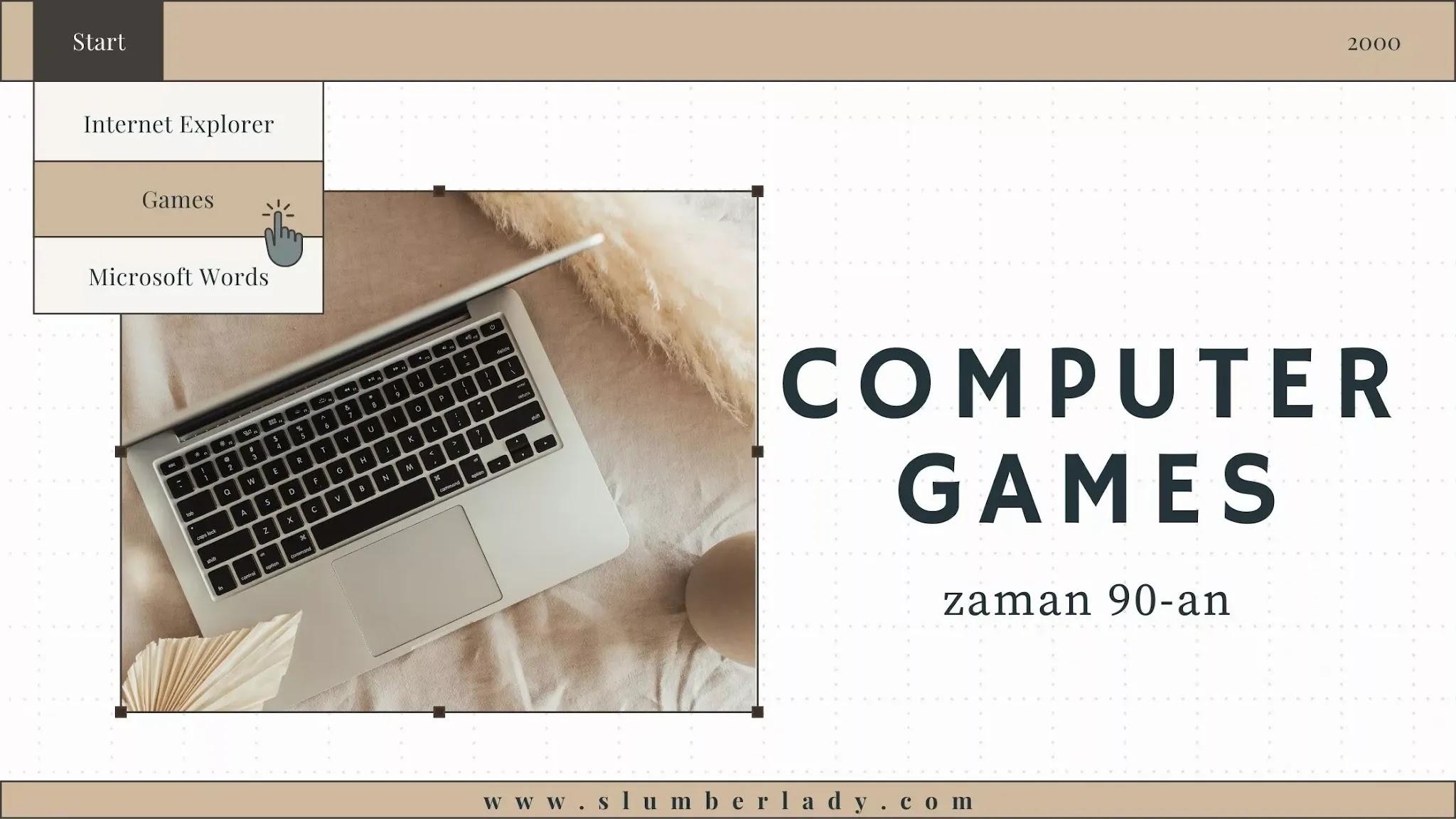 computer games in 90s permainan komputer 90-an