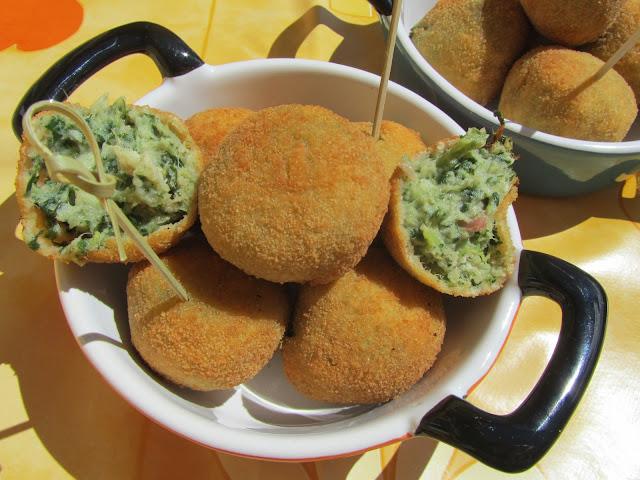 Albóndigas de acelgas o espinacas cocina tradicional Ana Sevilla