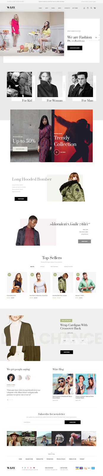 Responsive Multi Purpose WordPress