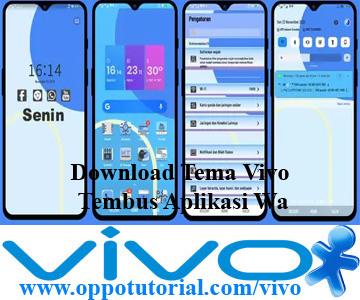 Download Tema Vivo Tembus Aplikasi Wa