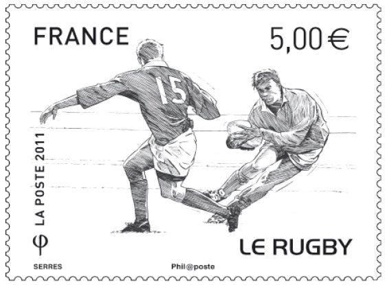 Oval Ball Philately: France 2011 Rugby World Cup