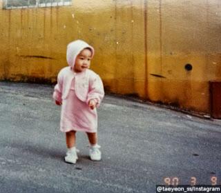 Imutnya Foto Taeyon SNSD Saat Usia Satu Tahun