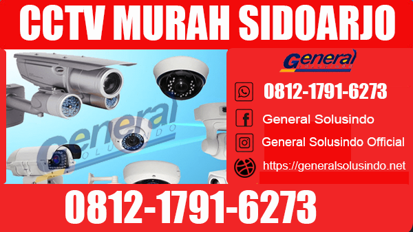 CCTV Murah Krembung Sidoarjo Terlengkap