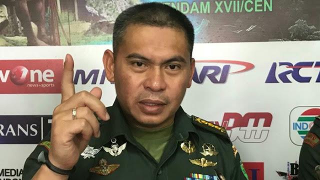Menohok, Curhatan Kapendam Cendrawasih Ketika TNI-Polri Disudutkan