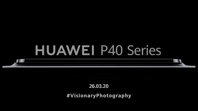 Huawei P40 launch teaser confirms massive camera bump
