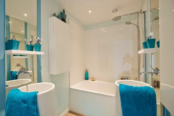 Blue Bathroom Design Ideas 8