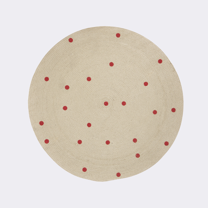 Round carpet dots ferm living A/W 2014 for kids