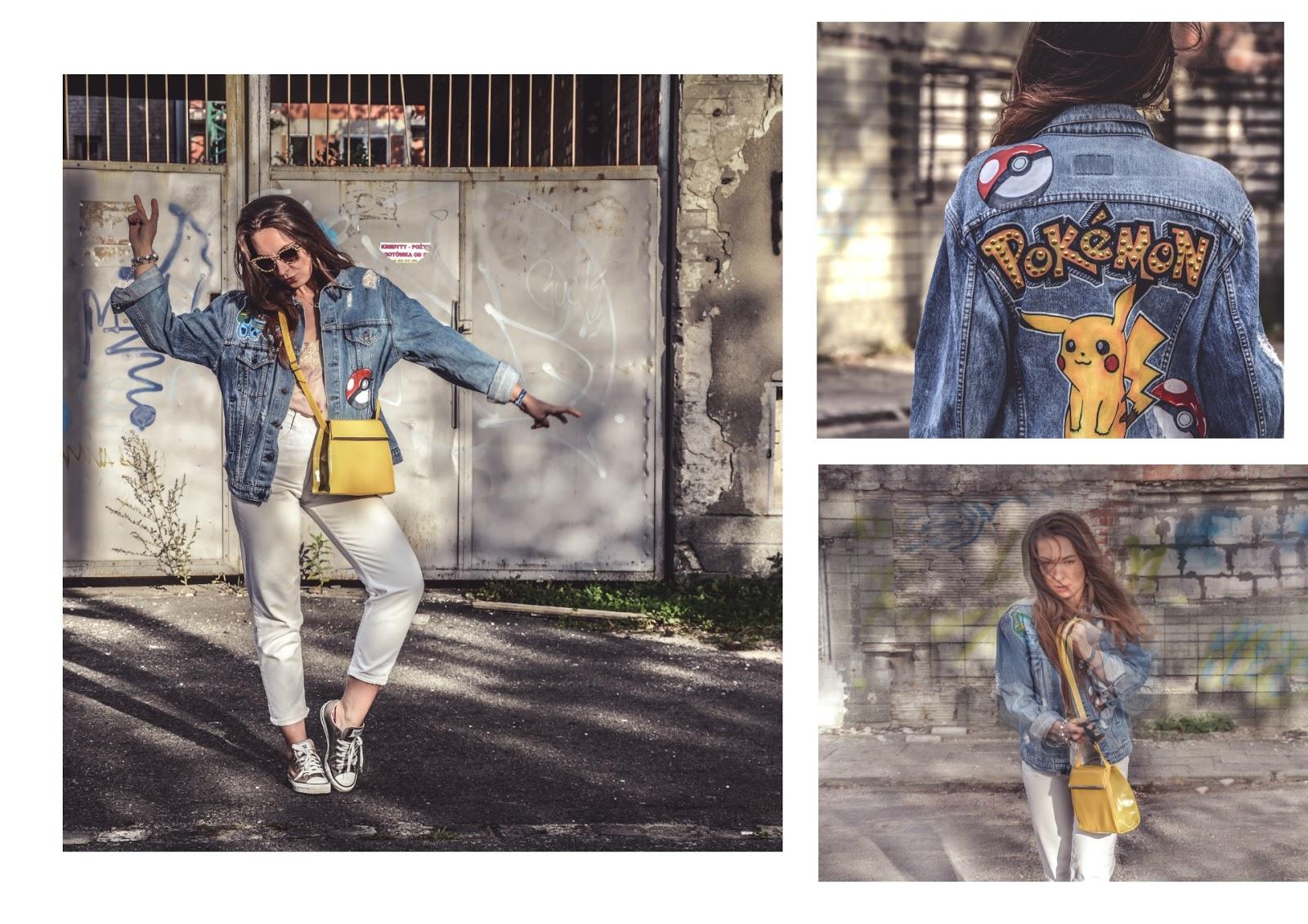 denim street outfit