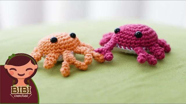 COMO TEJER GRATIS Amigurumi de Cangrejo a Crochet