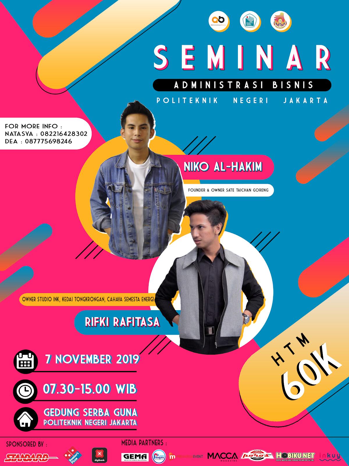Politeknik Negeri Jakarta - Seminar AB 2019