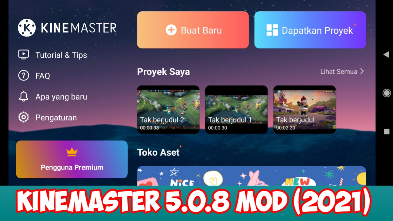Download KineMaster 5.0.8 Mod Support Beatsync