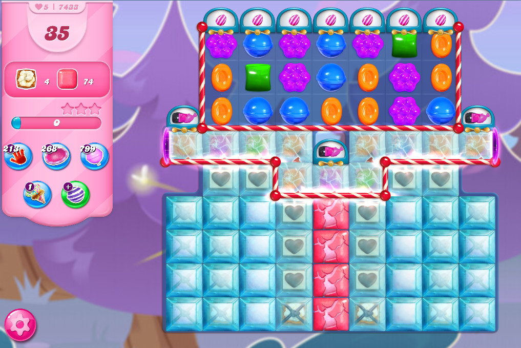 Candy Crush Saga level 7433