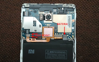 Test Point Redmi Note 4 Mido Qualcomm