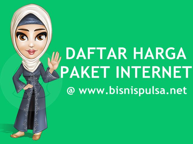 Daftar Harga Paket Internet Kuota Data Murah BisnisPulsa.net
