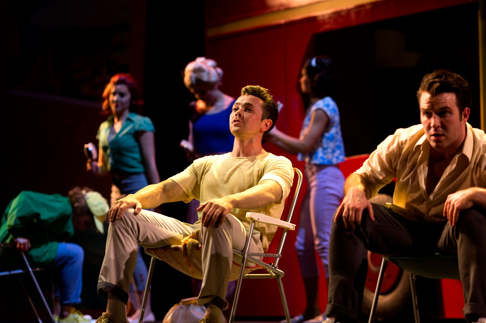 Summer Holiday musical Darlington Hippodrome review ray quinn
