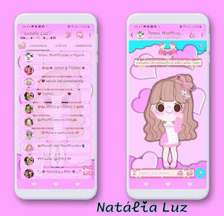 Boneca Girl Theme For YOWhatsApp & RA WhatsApp By Natalia Luz