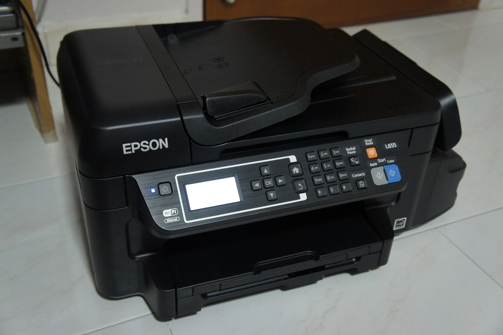 Review of Epson L655 Ink Tank System Printer - The Tech
