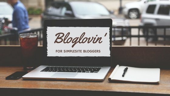 Bloglovin' for SimpleSite Bloggers
