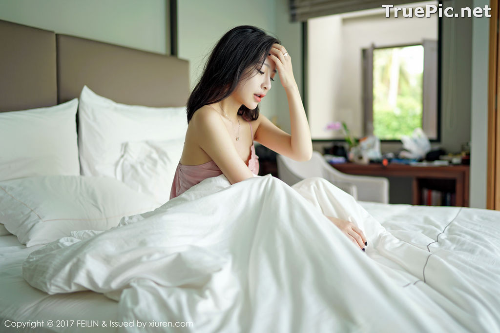 Image FEILIN Vol.084 – Chinese Pretty Model – Shi Yi Jia (施忆佳Kitty) - TruePic.net - Picture-5