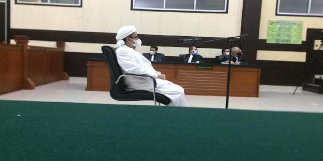 Habib Rizieq Siap Melawan Vonis