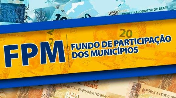 Prefeituras municipais recebem nesta quarta-feira 2º decêndio do FPM; Confira os valores