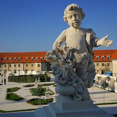 Jardín del Castillo de Bratislava, Eslovaquia