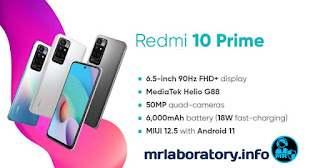 Xiaomi Redmi 10 Primeimage