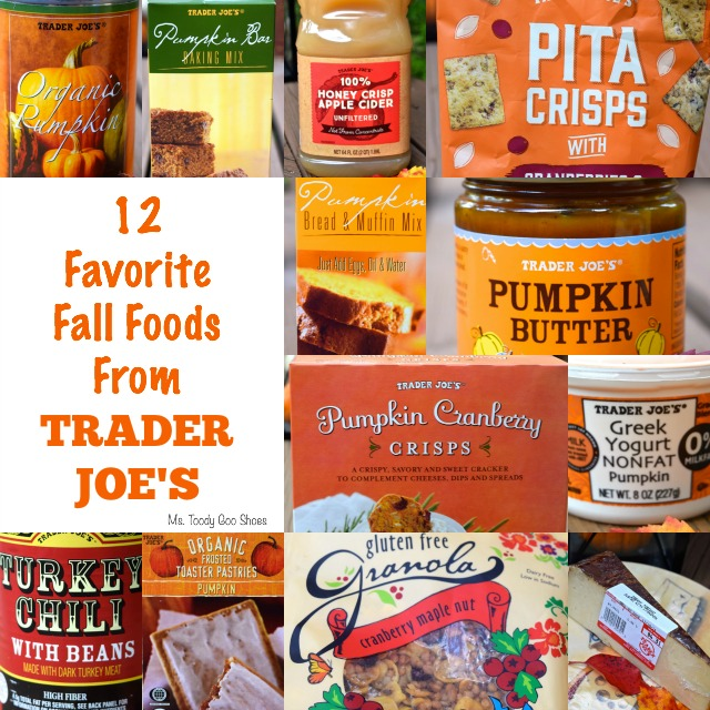 12 Favorite Fall Foods From Trader Joe's  --- Ms. Toody Goo Shoes  #TraderJoes