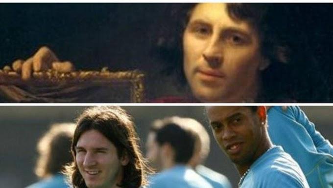 Una pintura de 1699 tiene la misma cara de Messi