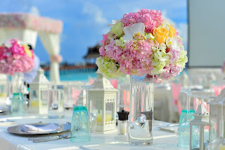 florida beach wedding decorations
