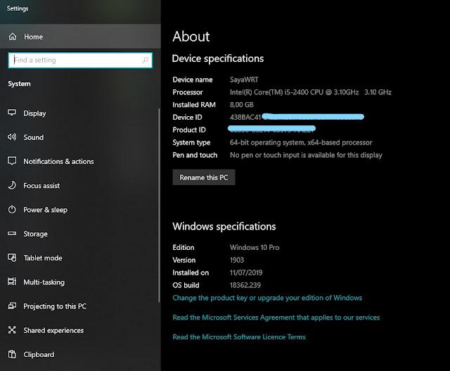 sayawrt, windows 10 gratis, pengalaman windows 10