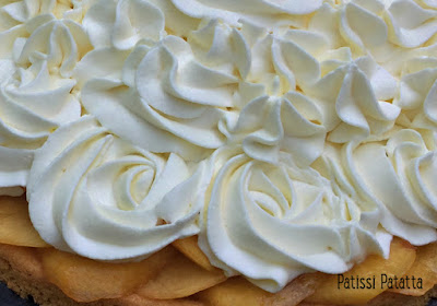 recette de cheese-cake nectarines, cheese-cake nectarines, tarte aux nectarines, cheese-cake sans cuisson, dessert de l'été, dessert avec des nectarines, tarte estivale, cheese-cake estival, cheese-cake aux fruits, base sablé breton, tarte sablé breton, patissi-patatta