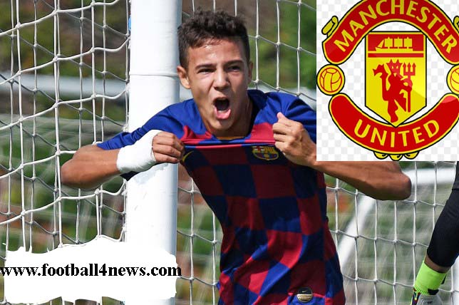 Barcelona defender Marc Jurado to complete Manchester United transfer