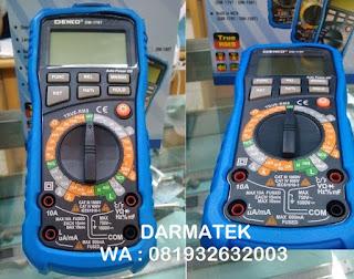 Darmatek Jual Digital Multitester DEKKO DM-179T Baru dengan kabel Temperature suhu