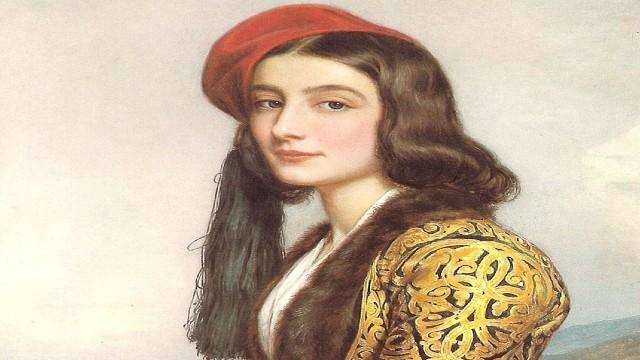 Ρόζα Μπότσαρη: Η Ελληνίδα καλλονή, κόρη του Μάρκου Μπότσαρη που έμεινε στο πάνθεον των πιο ωραίων γυναικών