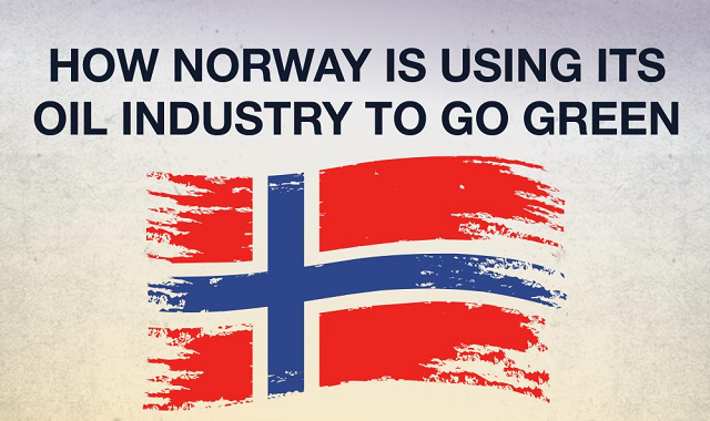 Norway's strategy for utilizing the oil industry's wealth to go green
