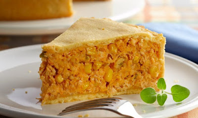 Torta de Frango sem Glúten