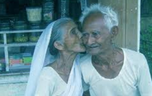Old Age Romantic Poetry in Hindi