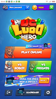 menu Uc Ludo Hero