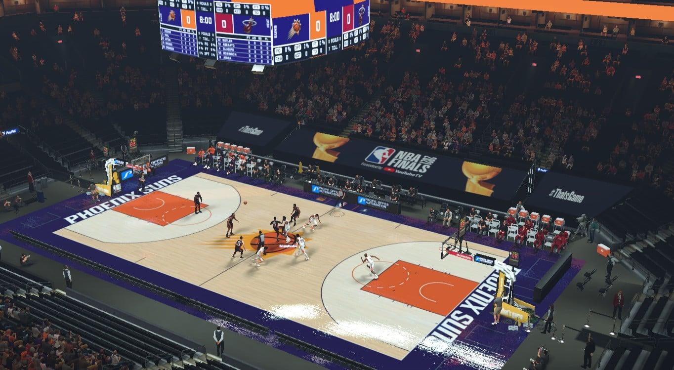 NBA 2K21 Phoenix Suns NBA Finals 2021 Arena by GojoSensei ...