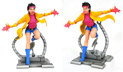 New York Comic Con 2020 Exclusive Marvel Comic Gallery Jubilee Bubble Edition PVC Diorama by Diamond Select Toys