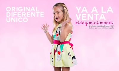 Colección Primavera Verano Kiddy Mini Model 2016