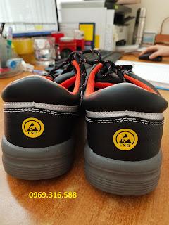 Giày bảo hộ lao động mũi cứng, chống tĩnh điện siêu nhẹ S-Shoe