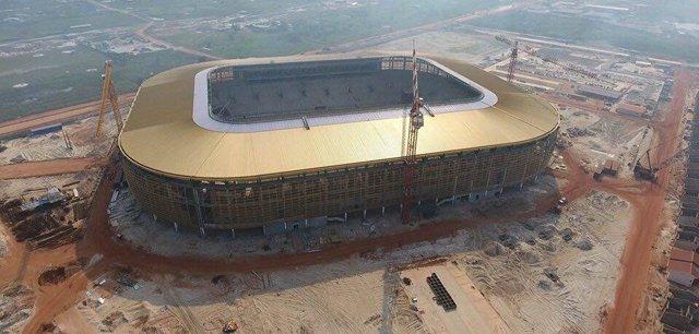 الملعب المستضيف لمباريات منتخب مصر