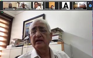 अल्पसंख्यकों की मांगों को कांग्रेस चुनाव में मजबूती से उठायेगी : सलमान खुर्शीद