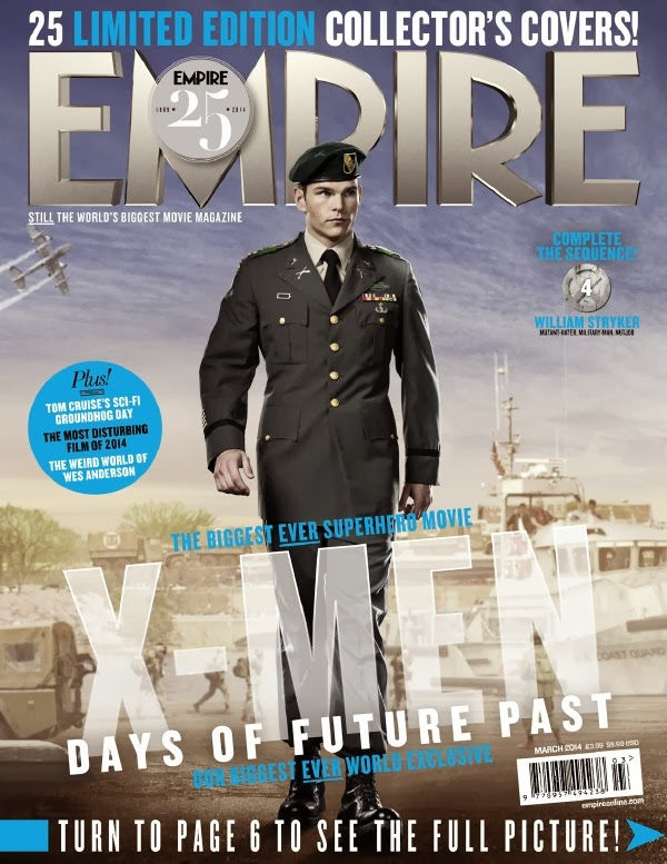 Empire covers X-Men: Days of Future Past: Striker